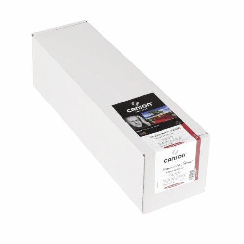 CANSON Infinity Museum Canvas Fotopapier hochtransparent x 3,05m 340g weiß