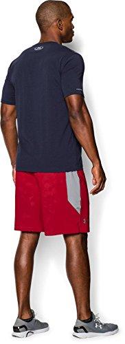 Under Armour CC Sportstyle Logo, Maglietta a Maniche Corte Uomo Blu Notte
