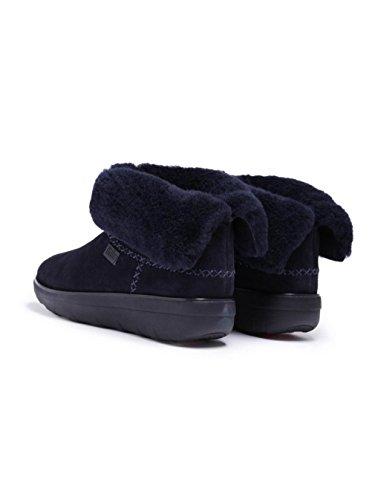 FitFlop™ Mukluk Stiefel Shorty 2 Supernavy Blau