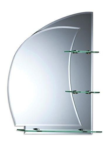 Specchio da bagno con mensole ~ splendido design nautico 70cm x 50cm ~ da parete