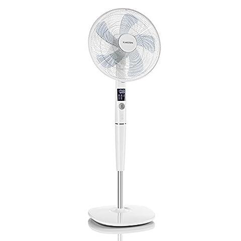 Klarstein • Silent Storm • Ventilator • Standventilator • mit Fernbedienung • leise • 5-Blatt-Rotor • 16