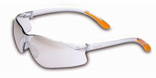Kings Schutzbrille klar silber verspiegelt KY213 UV 99.9%