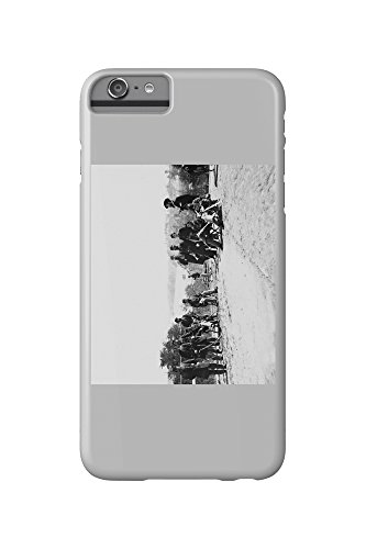 drewrys-bluff-va-gen-henry-abbot-and-staff-civil-war-photograph-iphone-6-plus-cell-phone-case-slim-b