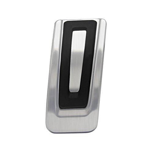 Ansicht vergrößern: Signswise Edelstahl Fußstütze Bremse Pedalkappen Abdeckung Fuel Bremse Fußbett