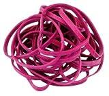 PASSATOIA 51345Rondella elastici in gomma, 130X 10mm, diametro 85mm, larghezza 10mm anelli di gomma, confezione da 50grammi, Rosso