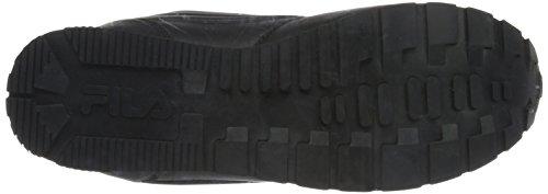 Fila Orbit Velcro Low, Sneakers basses homme Schwarz (Black/Black)
