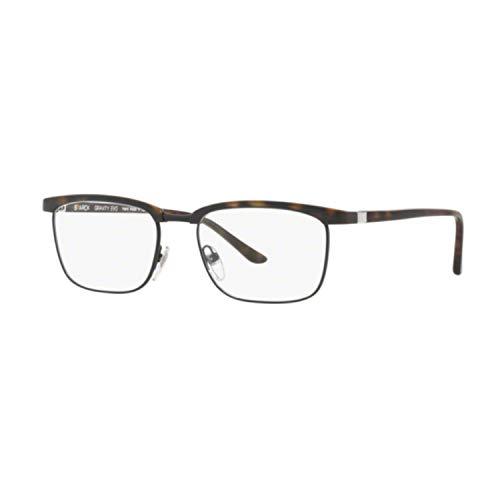 STARCK Eyes SH 3039 0002 Brille, Mattschwarz Havana