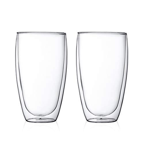 Bodum Pavina 4560-10, 2 bicchieri da 0,45 litri