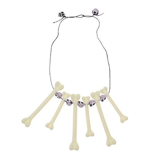 Holibanna Halskette Säbelzahn Dschungel Halskette Höhlenmensch oder prähistorisches - Säbelzahn Kostüm