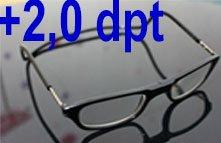 Lesebrille mit Magnet Click 2,0 dpt