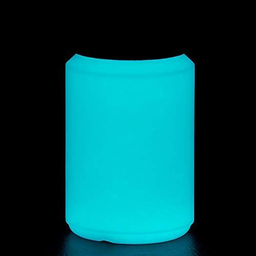 NighTec nachleuchtende Nachtfarbe 100 ml Leuchtfarbe (blau-grün) -