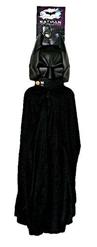 The Dark Knight Rises Kostüm Set Batman Cape mit Maske (Dark Knight Rises Kinder Kostüm)