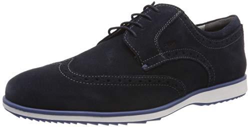 Geox U Blainey A, Zapatos Cordones Brogue Hombre