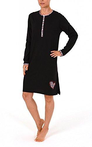 Normann Copenhagen -  Camicia da notte  - Donna Nero