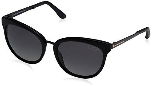Tom Ford Damen Sunglasses Ft0461 02D 56 Sonnenbrille, Schwarz