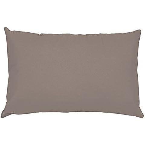 Funda de almohada rectangular Confort Topo