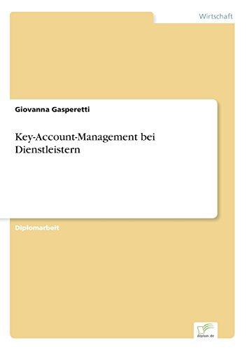 Key-Account-Management bei Dienstleistern