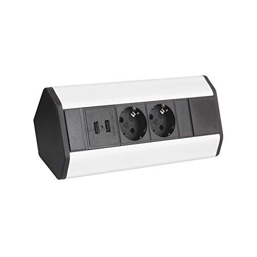 Möbel Steckdosen 2x USB Küchen S...