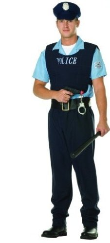 Rg Costumes 80564-S Law Enforcer Adult Costume - Size S