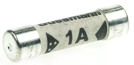 10 x 1A, 1 Amp, Bussmann BS1362 Sicherung, elektrisch, für den Haushalt, Büro Top Cartridge Fuse und Netzteil