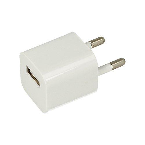 ELECTRÓNICA REY Adaptador de Corriente USB de 5V