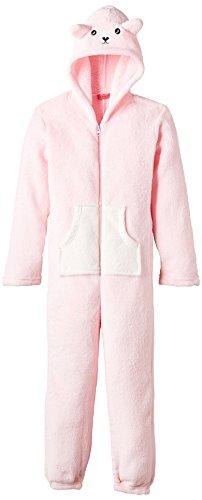 Lina Pink - BF.BBSHEEP.RCF2, Accappatoio per bambine e ragazze, rosa (rosa - rose  (rose poudre/cru)), 6 anni