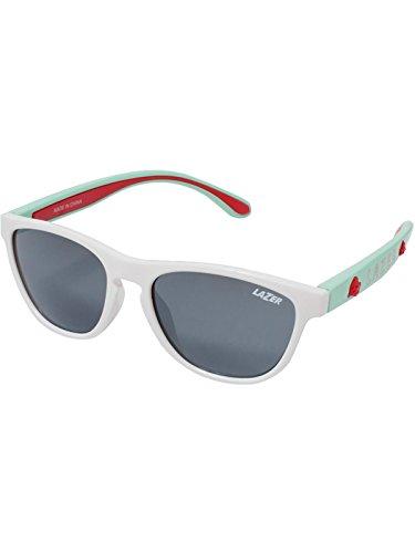 Lazer Kinder Blub Brille, White/Mint Green, One Size