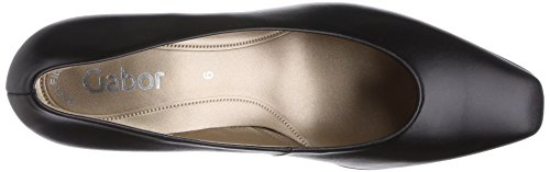 Gabor - Competition, Scarpe col tacco Donna Nero (Black (Black Leather))