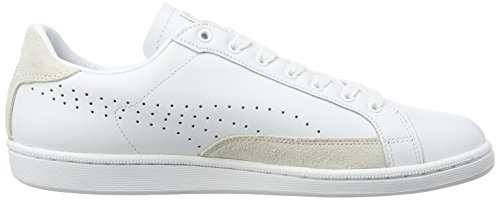 Puma Match 74 UPC, Baskets Mode Mixte Adulte Blanc (White/White/Gold 10)