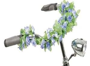fahrraddekor blumengirlande rosengirlande blumen f r fahrrad neu sport freizeit. Black Bedroom Furniture Sets. Home Design Ideas