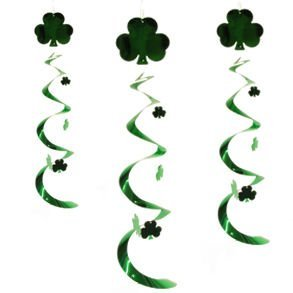 Shamrock Whirls 30in 3/Pkg Pkg/1 by The Beistle Company