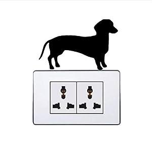electrocardiogramas perro: MYLOOO Calcomanía de la Pared de la decoración de Las Etiquetas engomadas del In...