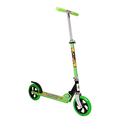 OUTAD Monopattino per bambini, bambini Kick Scooter Easy-Folding regolabile in altezza Due grandi ruote Rear Break Adolescenti Smooth Rides Bambini Età 6+