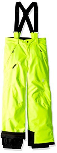 Spyder Jungen Propulsion Hose, Gelb (Bryte Yellow/Black), 140 (Herstellergröße: 10)