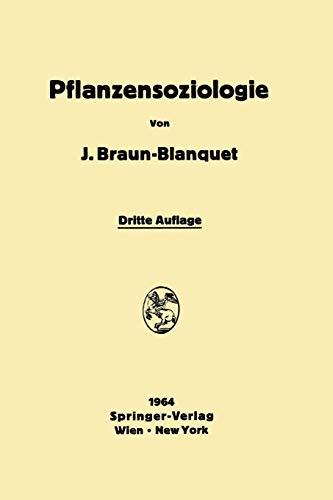 Pflanzensoziologie: Grundzüge der Vegetationskunde