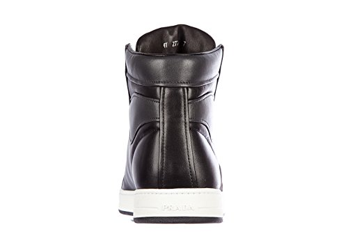 4T2724NEROANTRACITE Prada Sneakers Uomo Pelle Nero Nero