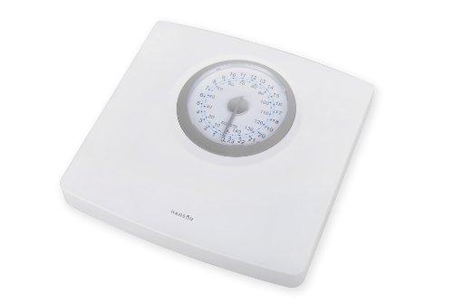 Hanson H100 - Báscula de baño mecánica (hasta 150 kg), color blanco