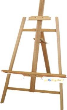 Cavalletto da Tavolo d 60 cm resistente e regolabile per PITTURA in Esterno o Interno per Tele da 40 a 100 cm