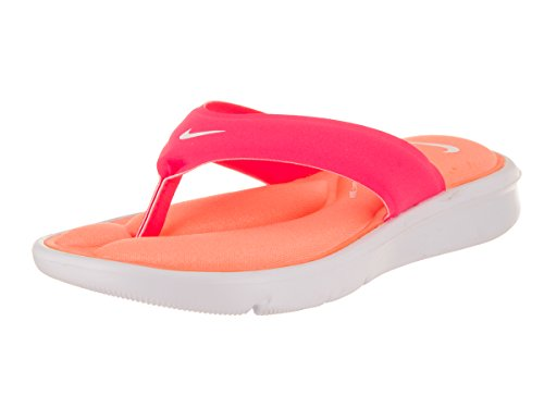 Nike Womens Ultra Comfort Thong Pink Synthetic Sandals 40.5 EU (Nike-pink-sandalen)