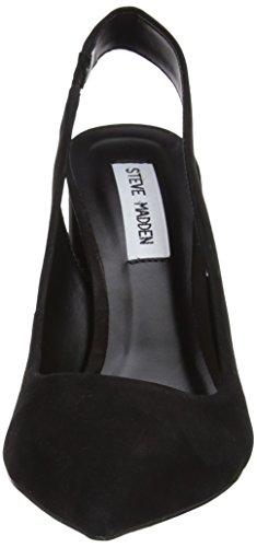 Steve Madden Damen Dove Sandal Absatz Schwarz (Schwarz)