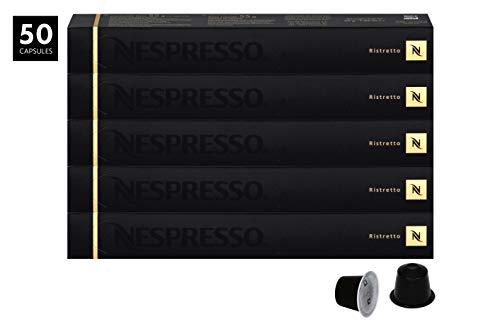 50 Nespresso Capsulas Café Ristretto