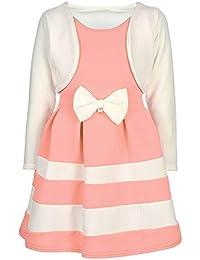 Name It Baby Mädchen Festkleid NBFFabine Tüllkleid kurzarm bestickt rosa