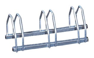 Mottez - Portabicicletas para 3 bicicletas