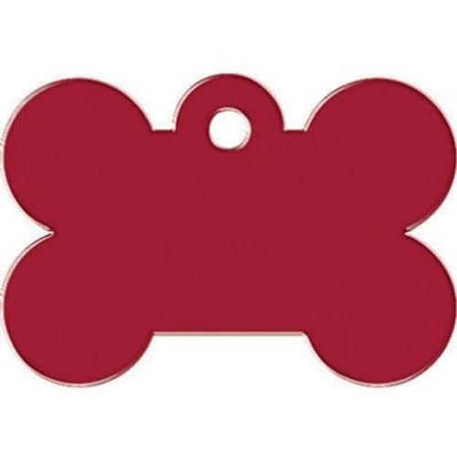 Kaba Ilco tag-bone-3l Knochen Pet Tag, groß, Rot - Bone Trim Kit