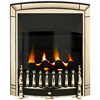 Valor Dream Balanced Flue Inset Gas Fire - Gold