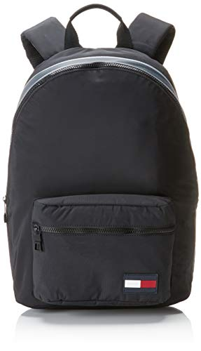 Tommy Hilfiger Sport Mix Backpack, Zaino Uomo, Nero (Black), 15x43x31 centimeters (B x H x T)