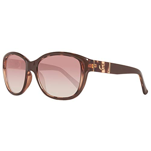 Guess Damen GU 7337 Sonnenbrille, Gradient Brown Lens, 56