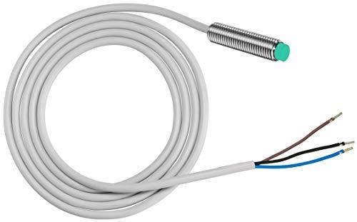 Pepperl + Fuchs Induktiver Sensor - Induktive Näherungsschalter NXN12-18GM50-E2 12 mm PNP Schließer (NO) 3-Draht DC - 10-30 V 100 mA -