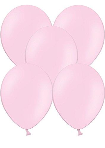 100 Luftballons Ø 28 cm Farbe frei wählbar Ballons Helium Luftballon (Rosa)