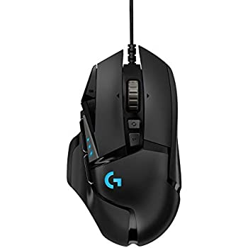 Logitech 502 Hero Gaming Mouse (Black)